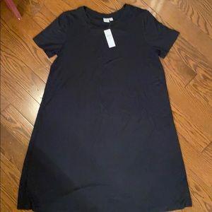 Gap swing tee shirt dress, LP, NWT